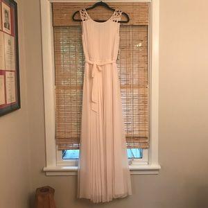 Jessica Simpson Maxi Dress NWT Blush/Ivory